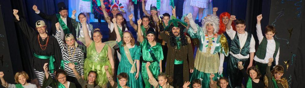 Peter Pan full cast finale